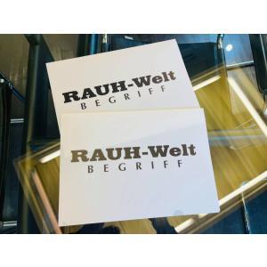 RAUH-Welt クリアファイル 2枚セット RWB A4ファイル|kamiwaza-japan