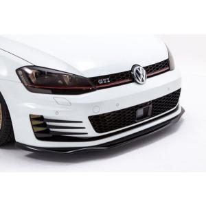 Euro Magic Volkswagen Golf7 フロントリップスポイラー カーボン|kamiwaza-japan