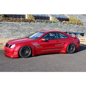 M-Benz W209 CLK SARTO RACING BODY KIT GTフルキット|kamiwaza-japan