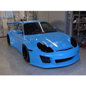 Fastes'Cars Porsche 996 over fender body kit|kamiwaza-japan