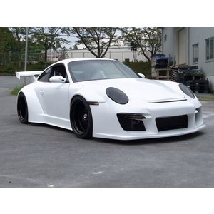 Fastes'Cars Porsche 997 over fender body kit|kamiwaza-japan