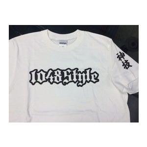 1048Style × Kamiwaza Japan Logo T-shirts white|kamiwaza-japan