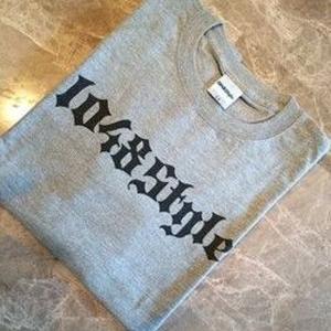 1048Style Logo T-shirts Gray|kamiwaza-japan