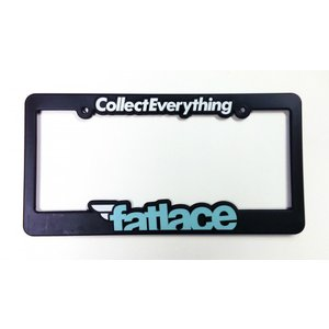 COLLECT EVERYTHING V2 LICENSE PLATE FRAME|kamiwaza-japan