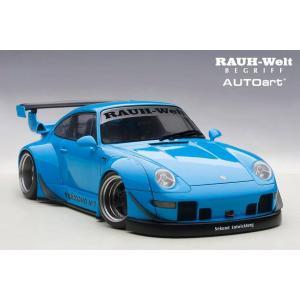 RWB993 BLUE 1/18 Model Cars RWB ポルシェ フィギュア|kamiwaza-japan