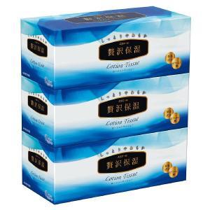 大王製紙 エリエール 贅沢保湿 400枚(200組)3箱 ×10パック 保湿ティッシュ まとめ買い ...