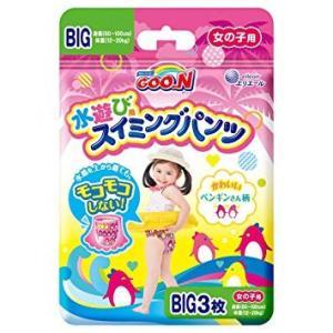 大王製紙 グ〜ン スイミングパンツ BIGサイズ3枚 女の子 12パック入り 送料無料