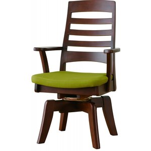 肘付き回転食堂椅子 CCM3 030A 張地FPGR (グリーン)|kamizen