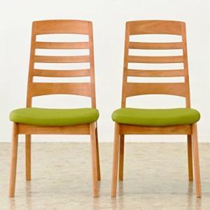 食堂椅子2脚セット CCM3 030 張地FPGR(グリーン)|kamizen