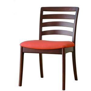 食堂椅子2脚セット CCM3 080 張地FPOR(オレンジ)|kamizen