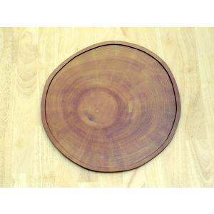 センの年輪盆 ケヤキ色|kamizen