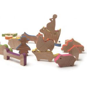 木製ブロックシリーズ 「Farm/ファーム(農場)」|kamizen