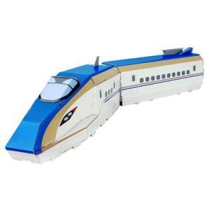 ダンボール工作キット E7系 北陸新幹線 2両編成 |kamizen