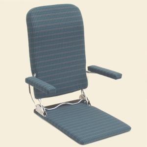 座椅子 おりたたみ式肘掛け付き 日本製 MC-No.37|kamizen