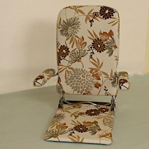 光製作所座椅子 おりたたみ式肘掛け付き 日本製 MC-No.57|kamizen