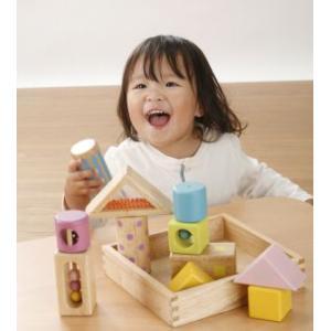 木のおもちゃ 音いっぱいつみき|kamizen