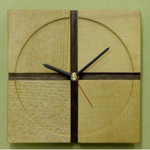 十字時計(壁掛け時計) kamizen