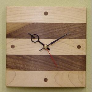 寄せ木時計(掛け時計) kamizen