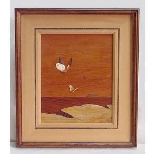 鈴木和彦象嵌絵画 渡海|kamizen