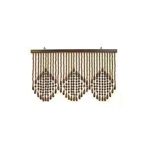 珠暖簾(玉のれん)A-150 ブラウン色|kamizen