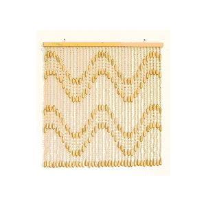 珠暖簾(玉のれん)S-390  ベージュ色|kamizen
