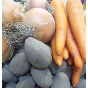 (送料無料)(カレー用)(野菜セット)(キャンプ、バーベーキュー)玉ねぎ5kg+じゃがいも5kg+人参2kg(計12kgセット)