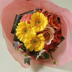 花 お花 フラワー ギフト フラワーギフト 誕生日 プレゼント カジュアルブーケ Sサイズ 花束 ブーケ あす楽 送料無料 バラ 記念日 お祝い 発表会 お見舞い|kamon-hanay
