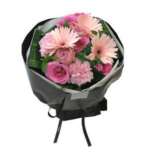 ブーケロン Bタイプ (ピンク) 花 ギフト 誕生日 プレゼント フラワー ギフト 花束 ブーケ お祝い 記念日 出産祝い 退職祝い 送別 送料無料 あすつく|kamon-hanay