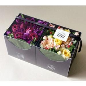 Chocolat Duo ショコラ・デュオ (6色から選べます!) 花 ギフト 誕生日 プレゼント フラワー ギフト お祝い 記念日 結婚祝い 結婚記念日 送料無料 あすつく|kamon-hanay