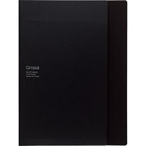 コクヨ キャンパス カバーノート 書類収容 A4 ブラック ノ-612B-D|kamoshika