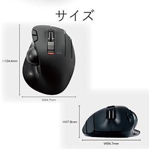 エレコム トラックボールマウス/親指/5ボタン/チルト機能/無線ブラック M-XT2DRBK|kamoshika