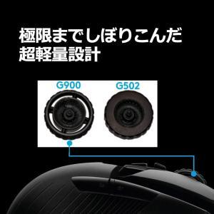 PUBG JAPAN SERIES 2018推奨ギアLOGICOOL ロジクール ワイヤレスゲーミングマウス G900 CHAOS SPEC|kamoshika