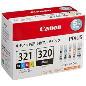Canon インクタンク BCI-321(BK/C/M/Y)+BCI-320 マルチパック kamoshika