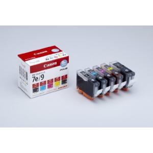 Canon 純正インクカートリッジ BCI-7e(BK/C/M/Y)+BCI-9BK 5色マルチパック BCI-7E+9BK/5MP kamoshika