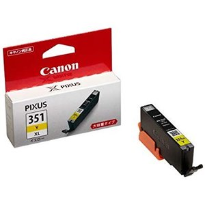 Canon 純正インクカートリッジ BCI-351 イエロー 大容量タイプ BCI-351XLY kamoshika