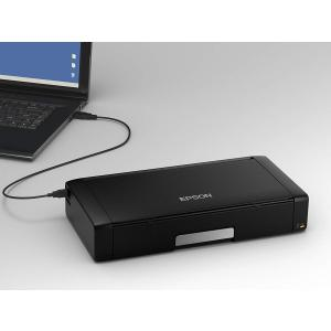 エプソン モバイルプリンター A4 インクジェット スマホプリント PX-S05B ブラック kamoshika