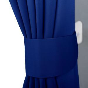 NICETOWN 遮光カーテン 2枚セット ローヤルブルー リビングルーム UVカット 幅100cm...