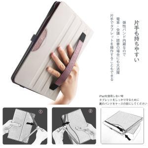 iPad 2018/2017 ケース DINGRICH iPad 9.7 ケース (第5世代 第6世代通用) PUレザー ペンホルダー ポケ|kamoshika