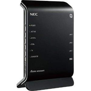 NEC 11ac対応 867+300Mbps 無線LANルータ(親機単体)Aterm WG1200H...