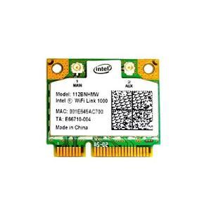 インテル Intel WiFi Link 1000 2.4GHz 802.11b/g/n PCIe Mini half 無線LANカード 1|kamoshika