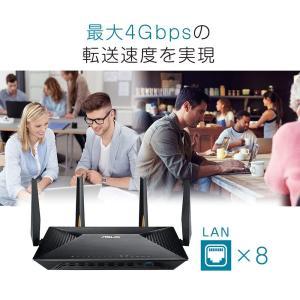 ASUS オフィス向け WiFi 無線LAN ルーター BRT-AC828 11ac デュアルバンド AC2600 1734+800Mbps kamoshika