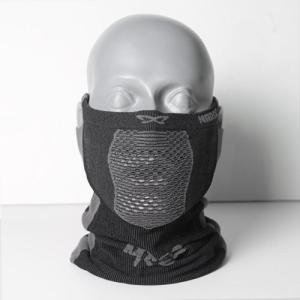 NAROO MASK(ナルーマスク) X5 スポーツマスク フェイスマスク 防寒 スギ・ヒノキ花粉症対策 UVカット (ブラック)|kamoshika