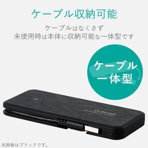 エレコム 外付SSD/ポータブル/ケーブル収納対応/USB3.1(Gen1)/240GB/ホワイト|kamoshika