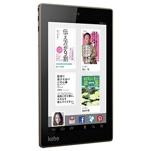 Kobo Android 4.2.2搭載タブレット Kobo Arc 7HD 16GB ブラック T416-KJ-BK-S-LC16|kamoshika