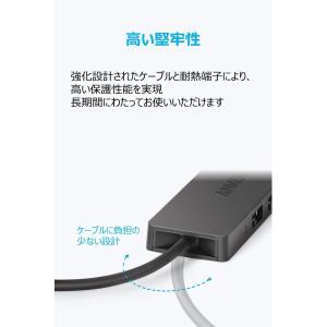 Anker USB3.0 ウルトラスリム 4ポートハブ USB3.0高速ハブ / バスパワー/軽量/...