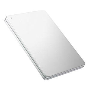 I-O DATA 外付けHDD ハードディスク 1TB ポータブル カクうす アルミボディ PS4 日本製 HDPX-UTS1S kamoshika