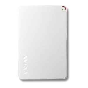 BUFFALO 2.5インチ(ポータブル) 外付けHDD 2TB ホワイト HD-PCF2.0U3-GWE kamoshika
