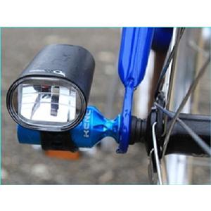 KCNC 自転車用 軽量 アクセサリーホルダー ライトホルダー ハブパーツ ライトアダプター レッド...