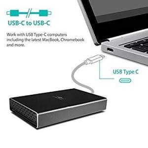 Vantec 2.5インチ SATA HDD/SSDケース USB 3.1 Gen2 Type-C ...