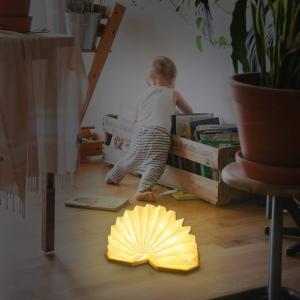 テーブルランプ デスクライトRegemoudal ベットサイドランプ LED 竹製 ボックスライト ...